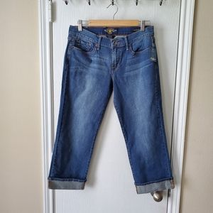 Lucky Brand Sweet N' Crop Jeans Size 28